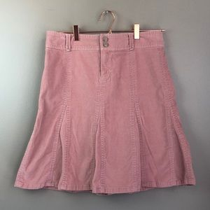 Athleta 6T Corduroy Skirt